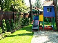 Aranżacja małego przydomowego placu zabaw pod Warszawą
